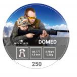 Õhkrelva kuulid BORNER Domed cal 4,5mm 0,55g 250 tk