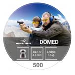 Õhkrelva kuulid BORNER Domed cal 4,5mm 0,55g 500 tk