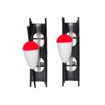 Ujukikomplekt KINETIC Classic Float peno Kit rakendatud 20mm Red/White 2pcs