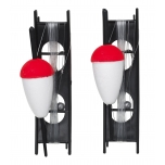Ujukikomplekt KINETIC Classic Float peno Kit rakendatud 30mm Red/White 2pcs
