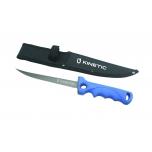 "Fileenuga KINETIC Fillet Knife Soft Grip 7""/17cm tupega  Blue/Black"