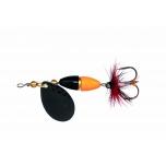 Pöörlev KINETIC Fizz 7g Black/Orange/Gold Ribbon