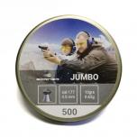 Õhkrelva kuulid BORNER Jumbo cal 4,5mm 0,65g 500 tk