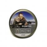 Õhkrelva kuulid BORNER Pointed cal 4,5mm 0,58g 250 tk