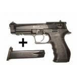 Stardipüstol BLOW BLANK REPLICAS TR92 02 black 9mm, top fire