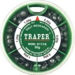 Tinakomplekt TRAPER 50g jäme 51114