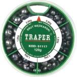 Tinakomplekt TRAPER 120g jäme 51117