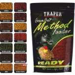 Прикормка TRAPER Method Feeder ready 750g Latikas