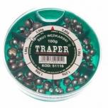 Tinakomplekt TRAPER 100g jäme 51116