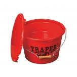 Söödaämber TRAPER 2-osaline 13L kaanega punane 53025