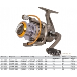 Spinning reel VOLZHANKA Optima 2000 (5+1 laagrit),118-0223
