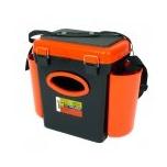 Kalastuskast HELIOS Fishbox 10l kõrge 432x230x404.5 mm oranz/must max.120kg
