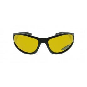 Päikeseprillid SOLANO polaroid must raam kollane klaas FL1097