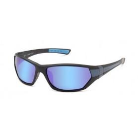 Sunglasses SOLANO polaroid must raam sinine klaas FL20027D