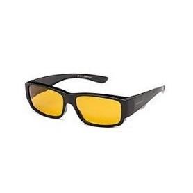 Päikeseprillid SOLANO polaroid must raam kollane klaas FL20028B