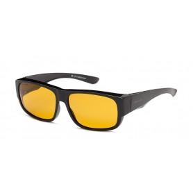 Sunglasses SOLANO polaroid must/hall raam kollane klaas FL20029B