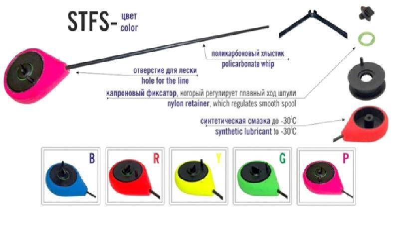 Taliritv MERMAID balalaika STFS-B sinine