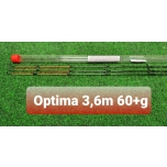 Feedri tipp VOLZHANKA Optima 3,6m test 60+ 3tk komplektis