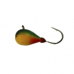 Mormishka jig K.P volfram Drop UV 4mm 1g color:003 (2pc set)
