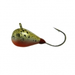 Mormishka jig K.P volfram Drop UV 3mm 0,5g color:006 (2pc set)