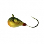 Mormishka jig K.P volfram Drop UV 3mm 0,5g color:007 (2pc set)