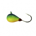 Mormishka jig K.P volfram Drop UV 3mm 0,5g color:011 (2pc set)