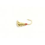 Kirptirk K.P volfram 3mm 0,5g. sipelgas 1tk/pk värv:kuldne