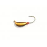 Kirptirk K.P volfram 3mm UV banan 0,65g 1tk värv: 017