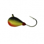 Mormishka jig K.P volfram Drop UV 3mm 0,5g color:002 (2pc set)