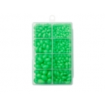 Rakenduse tarvikute komplekt KINETIC Hard Beads Kit Green/Glow