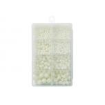 Rakenduse tarvikute komplekt KINETIC Hard Beads Kit White Glow