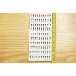Kirptirk MERMAID tina mudel 7/2 sipelgas, konks Mustad (100tk/pk) komplekt