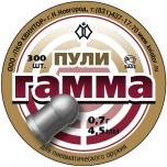 Õhkrelva kuulid Gamma 4,5mm, 0,80g 250tk