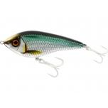 Jerk-lant WESTIN Swim Glidebait 6,5cm 9g Suspending Chrome Sardine